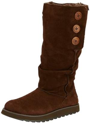 Skechers Women's Keepsake - Brrr Pull On Boots, Brown - Braun (Choc), EU