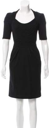 Catherine Deane Textured Knee-Length Dress