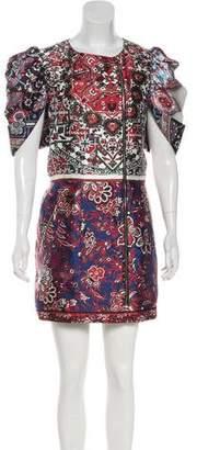 Louis Vuitton 2016 Silk Mini Dress w/ Tags