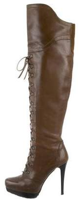 Stuart Weitzman Platform Over-The-Knee Boots