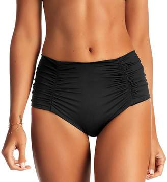 Vitamin A Onyx High Waist Bikini Bottom - Women's