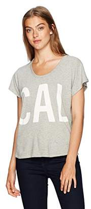 Calvin Klein Jeans Women's Short Sleeve Tissue Jersey T-Shirt