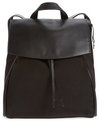 Skagen Ebba Leather Backpack - Black $195 thestylecure.com