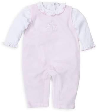 27603bb21 Kissy Kissy Baby Girl's Two-Piece Bodysuit & Coverall Set
