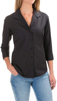 Foxcroft Shaped Button-Down Shirt - 3/4 Sleeve (For Women) $19.99 thestylecure.com