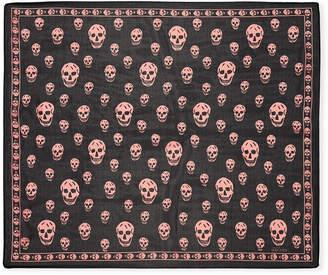 Alexander McQueen Skull-Pattern Scarf