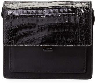 Nancy Gonzalez Gili Crocodile/Leather Crossbody Bag