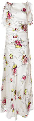 Antonio Marras floral print maxi dress