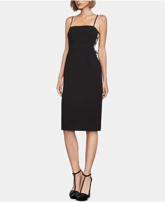 BCBGMAXAZRIA Esmee Strappy-Back Dress