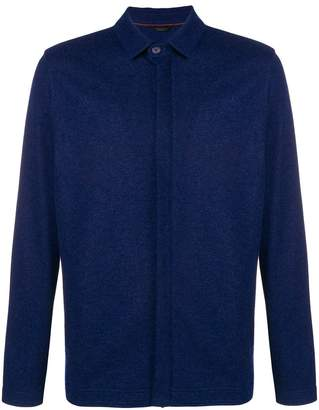 Loro Piana long-sleeve shirt jacket