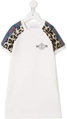 bb051c0be079 Roberto Cavalli Junior jersey short sleeved dress