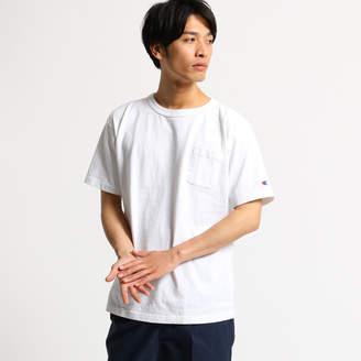 OPAQUE.CLIP (オペーク ドット クリップ) - オペーク ドット クリップ OPAQUE.clip 【Champion】コットンポケットTシャツ[MEN] (ホワイト)