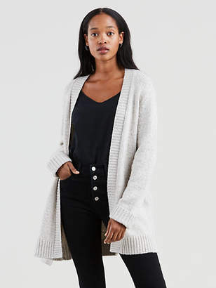 Levi's Wide Belted Cardigan Sweater