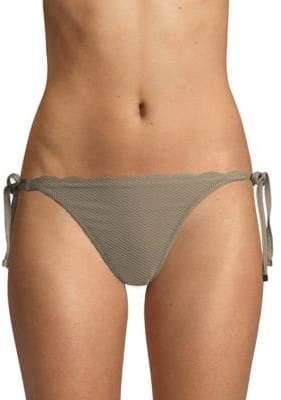 Heidi Klein Scallop Side-Tie Bikini Bottoms