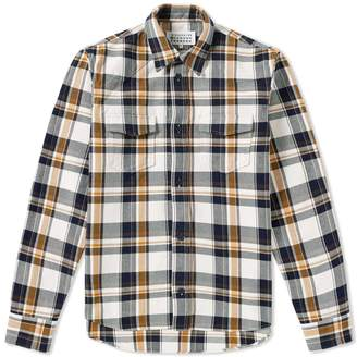 Maison Margiela Heavyweight Check Overshirt