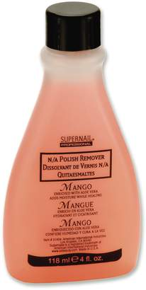 SuperNail Super Nail Professional Polish Remover Enriched with Aloe VERA, Mango Scented, 4-Ounce (Pack of 12)