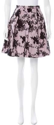 Christian Dior Floral Mini Skirt