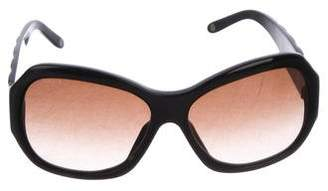 7b9d8bded1c Pre-Owned at TheRealReal · Versace Oversize Gradient Sunglasses
