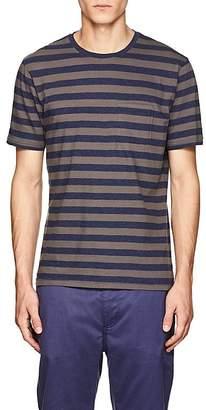 Barneys New York Men's Striped Cotton Jersey T-Shirt