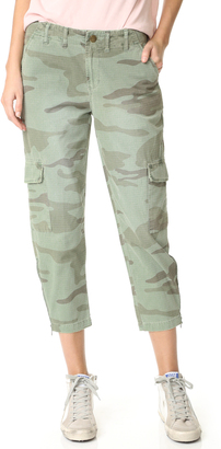 Current/Elliott The Utilitarian Cargo Pants $248 thestylecure.com