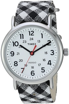Timex - Weekender Nylon Slip-Thru Strap Watches $49.95 thestylecure.com