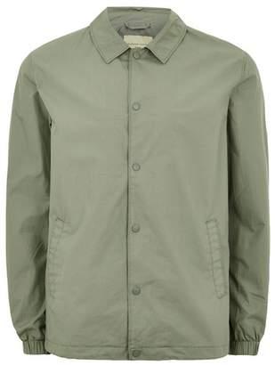 Topman Mens SELECTED HOMME Light Green Jacket