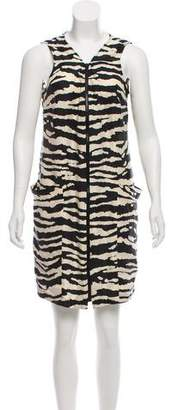 MICHAEL Michael Kors Silk Printed Dress