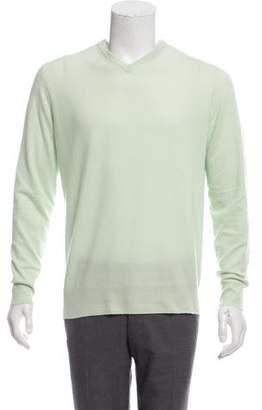 Loro Piana Baby Cashmere V-Neck Sweater