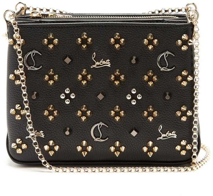 Christian Louboutin  CHRISTIAN LOUBOUTIN Triloubi small leather cross-body bag