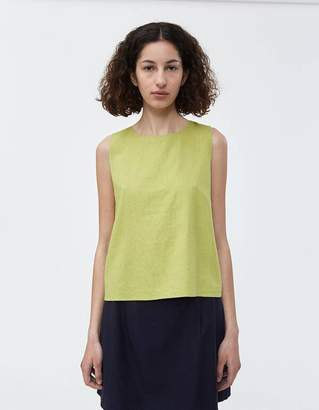 Shein Need Top in Avocado Linen