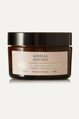 Aurelia Probiotic Skincare Botanical Cream Deodorant, 50g - Colorless