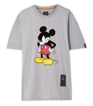 Rag & Bone Disney Oversized Printed Cotton-jersey T-shirt - Gray