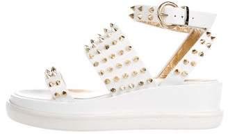 Steiger Paris Embellished Platform Sandals