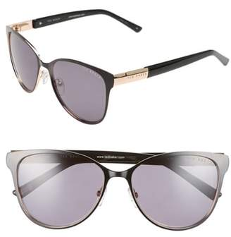 Ted Baker 56mm Modified Round Sunglasses