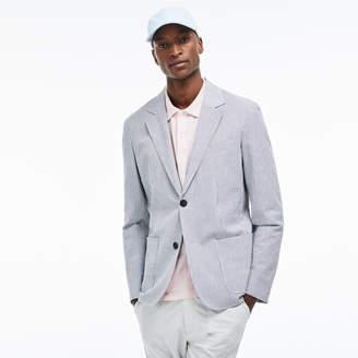 Lacoste Men's Slim Fit Stretch Cotton Blazer