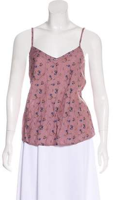 Elizabeth and James V-Neck Sleeveless Top w/ Tags