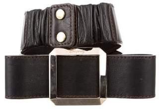 Temperley London Leather Waist Belt