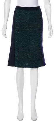 Tory Burch Knee-Length Wool Skirt