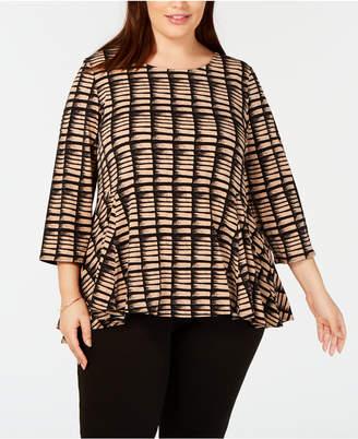 73609ce9103 Womens Plus Size Peplum Top - ShopStyle Australia