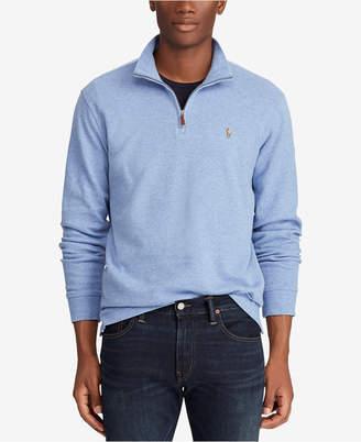 Polo Ralph Lauren Men Big & Tall Half-Zip Pullover