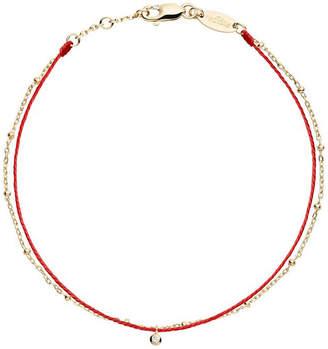 Redline The Alkemistry 18ct yellow gold double chain thread bracelet