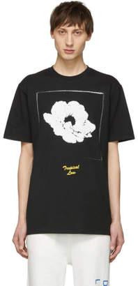 Double Rainbouu Black Tropical Low T-Shirt