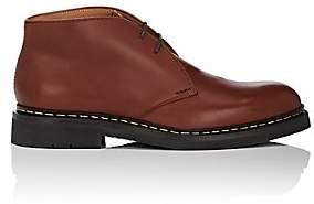 Heschung Men's Genet Leather Chukka Boots - Med. brown