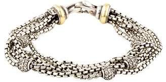 David Yurman Multistrand Diamond Bracelet