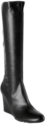 Charles David Charles by Charles David black stretch 'Enchanting' wedge boots