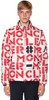 Moncler 1952 Jehan Letter Nylon Down Jacket