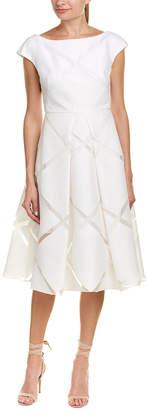 Milly Clara Silk-Blend A-Line Dress