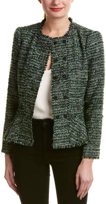 Rebecca Taylor Boucle Wool-Blend Jacket