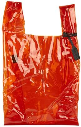 Jil Sander Orange Plastic Handbag