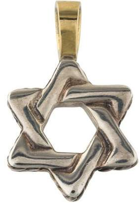 David Yurman Two-Tone Star Of David Pendant